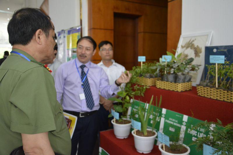 Ông Hoàng Minh Châu chia sẻ giải pháp phát triển dược liệu.
